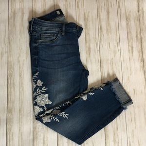 KUT Embroidered Jeans